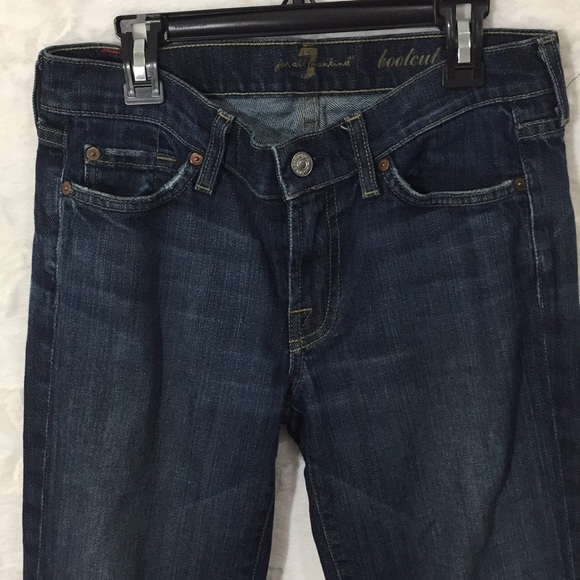 7 For All Mankind Denim - 7 For All Mankind Bootcut Jeans size 27